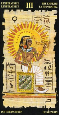 Ý nghĩa lá III The Empress trong bộ bài Egyptian Tarot