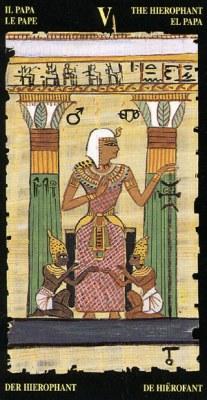 Ý nghĩa lá V The Hierophant trong bộ bài Egyptian Tarot