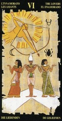 Ý nghĩa lá VI The Lovers trong bộ bài Egyptian Tarot