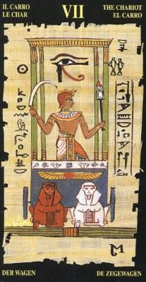 Ý nghĩa lá VII The Chariot trong bộ bài Egyptian Tarot