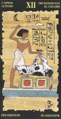 Ý nghĩa lá XII The Hanged Man trong bộ bài Egyptian Tarot
