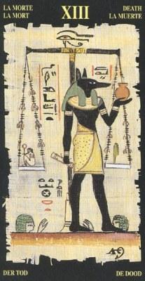 Ý nghĩa lá XIII Death trong bộ bài Egyptian Tarot