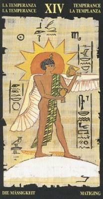 Ý nghĩa lá XIV Temperance trong bộ bài Egyptian Tarot