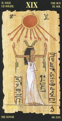 Ý nghĩa lá XIX The Sun trong bộ bài Egyptian Tarot