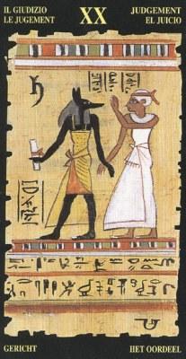Ý nghĩa lá XX Judgement trong bộ bài Egyptian Tarot