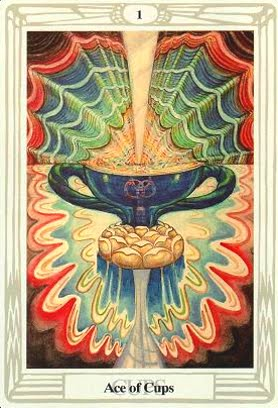 Lá Ace of Cups – Aleister Crowley Thoth Tarot