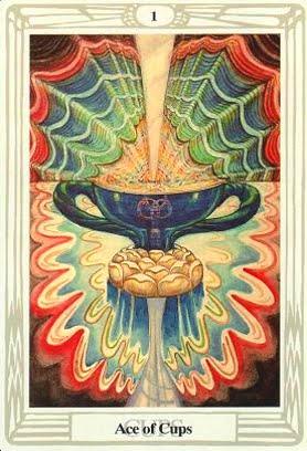 Ý nghĩa lá Ace of Cups trong bộ bài Aleister Crowley Thoth Tarot