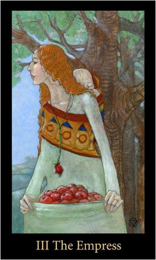 ý nghĩa lá The Empress trong bộ bài Mary-el Tarot