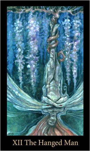 ý nghĩa lá The Hanged Man trong Bộ Bài Mary-el Tarot
