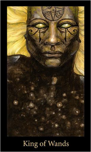 ý nghĩa lá King of Wands trong bộ bài Mary-el Tarot