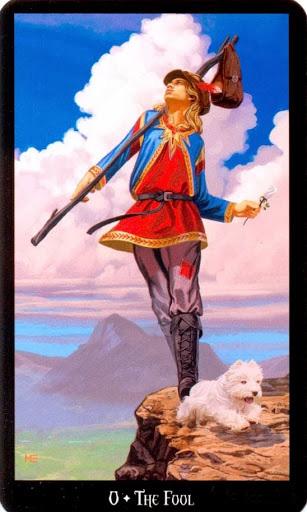 Ý nghĩa lá The Fool trong bộ bài Witches Tarot