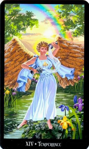 Ý nghĩa lá Temperance trong bộ bài Witches Tarot