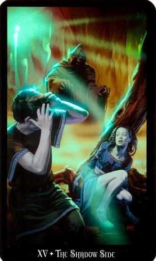 Ý nghĩa lá The Shadow Side trong bộ bài Witches Tarot