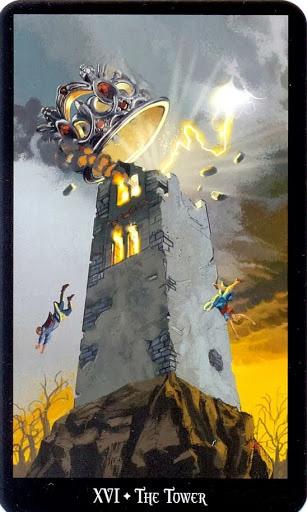 Ý nghĩa lá The Tower trong bộ bài Witches Tarot
