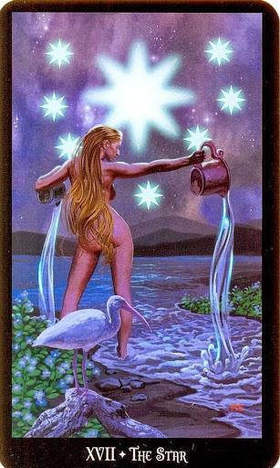 Ý nghĩa lá The Star trong bộ bài Witches Tarot