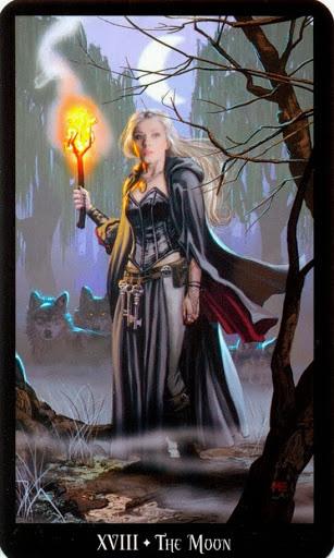 Ý nghĩa lá The Moon trong bộ bài Witches Tarot