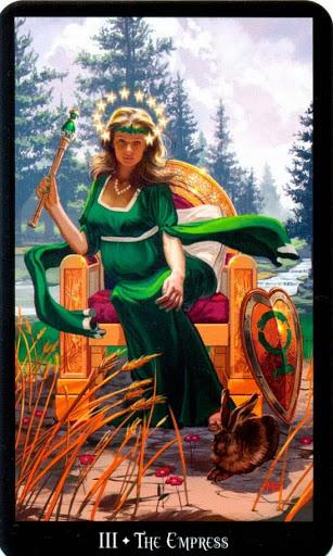 Ý nghĩa lá The Empress trong bộ bài Witches Tarot