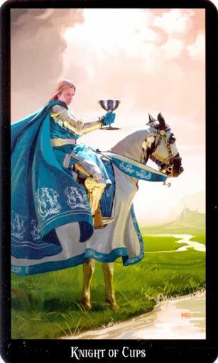 Ý nghĩa lá Knight of Cups trong bộ bài Witches Tarot
