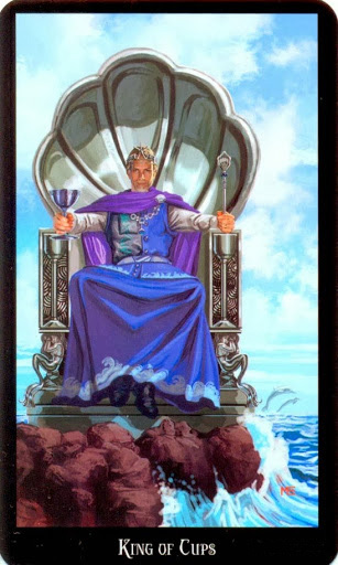 Lá King of Cups – Witches Tarot