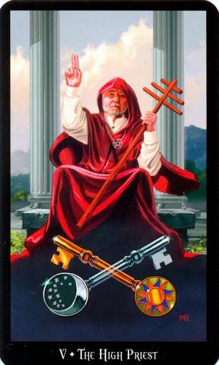 Ý nghĩa lá The High Priest trong bộ bài Witches Tarot