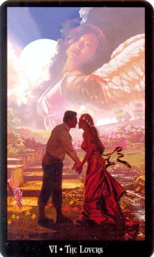 Ý nghĩa lá The Lovers trong bộ bài Witches Tarot