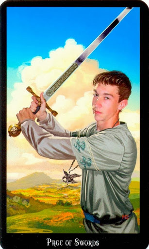 Ý nghĩa lá Knight of Swords trong bộ bài Witches Tarot