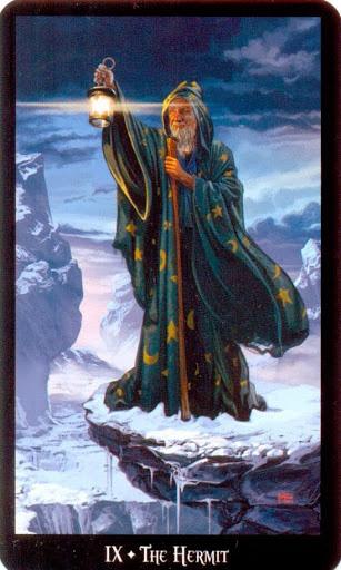 Ý nghĩa lá The Hermit trong bộ bài Witches Tarot