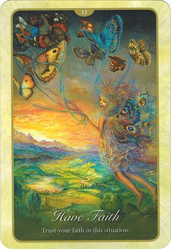 Ý nghĩa lá 12. Have Faith trong bộ bài Whispers of Love Oracle Cards
