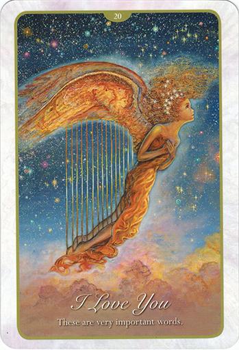 Ý nghĩa lá 20. I Love You trong bộ bài Whispers of Love Oracle Cards