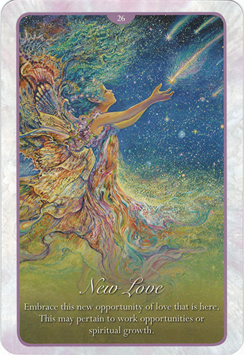 Lá 26. New Love – Whispers of Love Oracle Cards