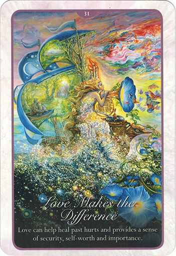 Ý nghĩa lá 31. Love Makes Difference  trong bộ bài Whispers of Love Oracle Cards