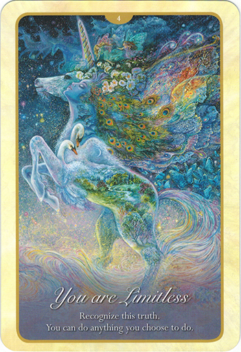 Ý nghĩa lá 4. You Are Limitless trong bộ bài Whispers of Love Oracle Cards