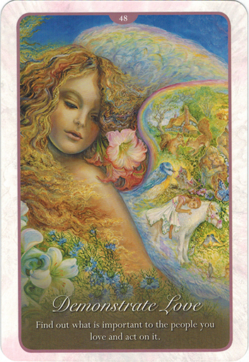 Whispers of Love Oracle Cards - Sách Hướng Dẫn 48