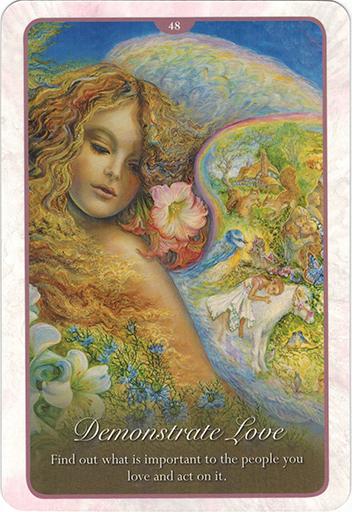 Ý nghĩa Lá 48. Demonstrate Love trong bộ bài Whispers of Love Oracle Cards