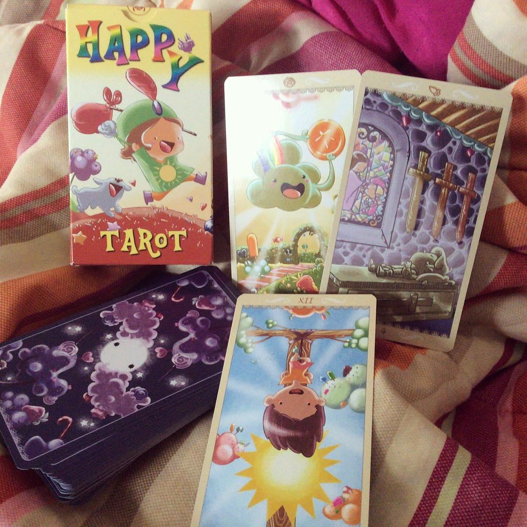 Happy Tarot – Sách Hướng Dẫn