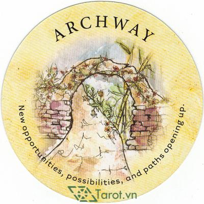 Ý nghĩa lá Archway trong bộ bài Tea Leaf Fortune Cards