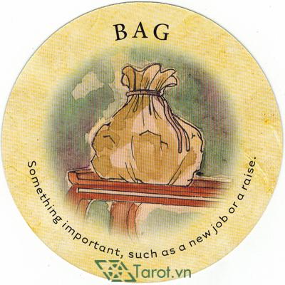 Ý nghĩa lá Bag trong bộ bài Tea Leaf Fortune Cards