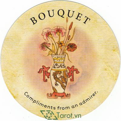 Ý nghĩa lá Bouquet trong bộ bài Tea Leaf Fortune Cards