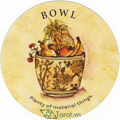 Ý nghĩa lá Bowl trong bộ bài Tea Leaf Fortune Cards