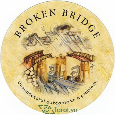 Ý nghĩa lá Broken Bridge trong bộ bài Tea Leaf Fortune Cards