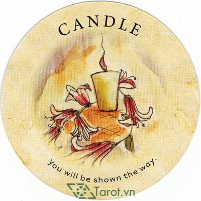 Ý nghĩa lá Candle trong bộ bài Tea Leaf Fortune Cards
