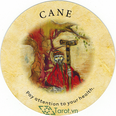 Ý nghĩa lá Cane trong bộ bài Tea Leaf Fortune Cards