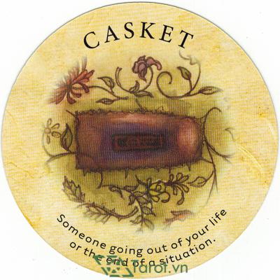 Ý nghĩa lá Casket trong bộ bài Tea Leaf Fortune Cards