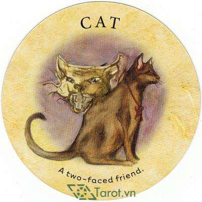 Ý nghĩa lá Cat trong bộ bài Tea Leaf Fortune Cards