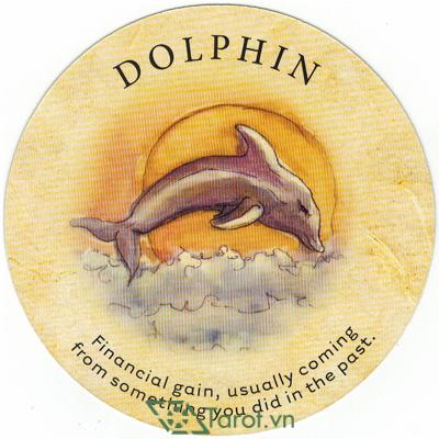 Ý nghĩa lá Dolphin trong bộ bài Tea Leaf Fortune Cards