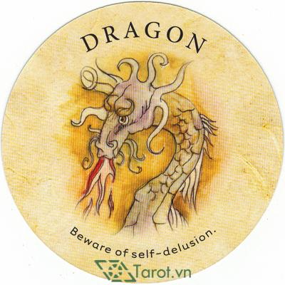 Ý nghĩa lá Dragon trong bộ bài Tea Leaf Fortune Cards