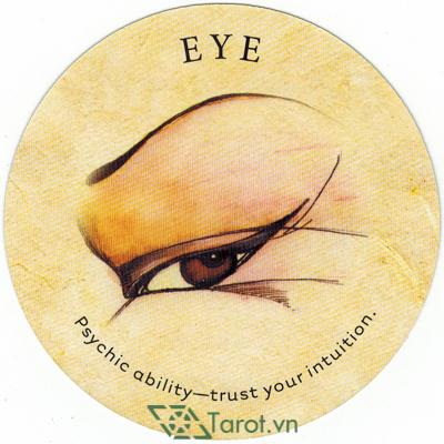 Ý nghĩa lá Eye trong bộ bài Tea Leaf Fortune Cards
