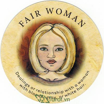 Ý nghĩa lá Fair Woman trong bộ bài Tea Leaf Fortune Cards