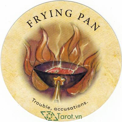 Ý nghĩa lá Frying Pan trong bộ bài Tea Leaf Fortune Cards