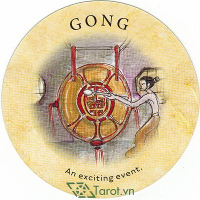 Ý nghĩa lá Gong trong bộ bài Tea Leaf Fortune Cards
